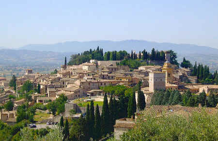 Spello in Umbria Italy